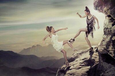 Bild Zwei Frauen streiten