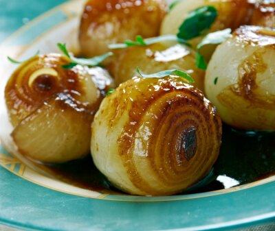 Bild Zwiebeln in einem Balsamico-Essig