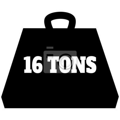 16 Ton Gewicht Icon