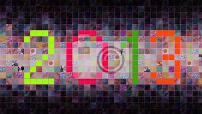 2013 Hintergrund der Quadrate