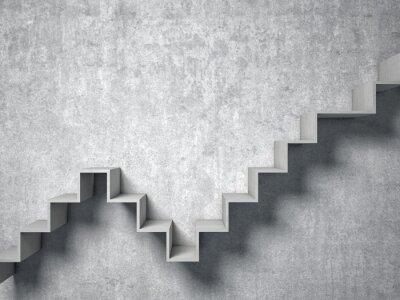 Fototapete 3d abstrakt Treppen