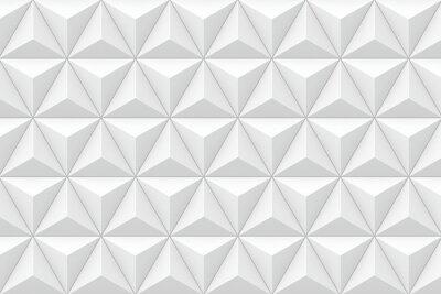 Fototapete 3D geometrische dreieckige Textur