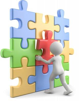 Puzzle Zusammensetzen