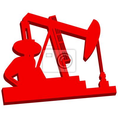3D-Oil Rig Icon