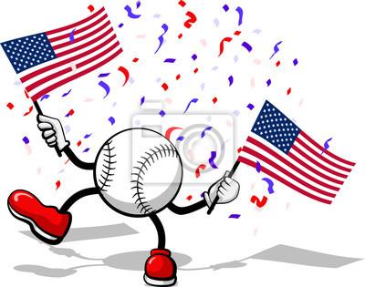 4. Juli Celebration USA Baseball