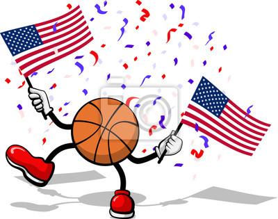 4. Juli Celebration USA Basketball