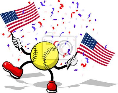 4. Juli Celebration USA Softball