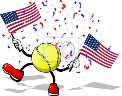 4. Juli Celebration USA Tennis