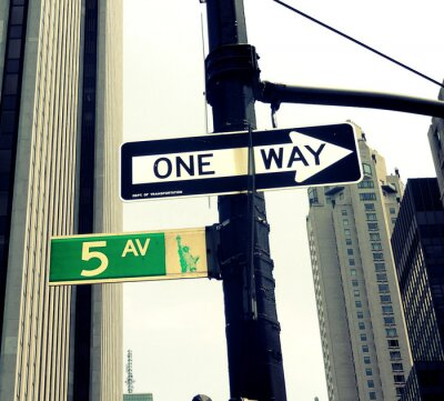 Fototapete 5th Avenue Street