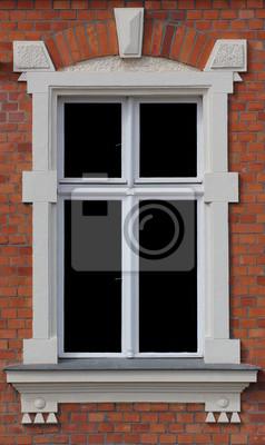 A window in Greifswald, Brick Gothic