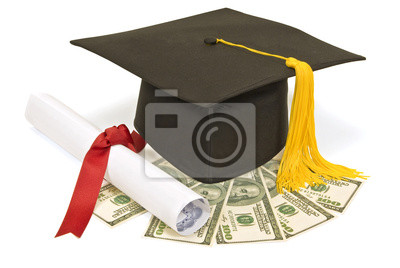 Abschluss Hut Mit Geld Fototapete Fototapeten Benjamin Franklin