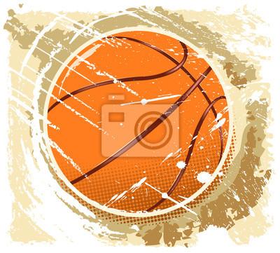 abstarct Basketball