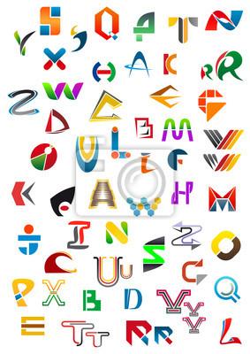 Abstract alphabet Icons und Symbole