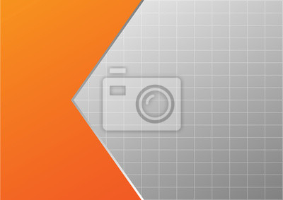 Fototapete Abstract Background Shape Orange Color