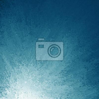 Fototapete Abstract Blue Background White Corner Design And Grunge Sponge