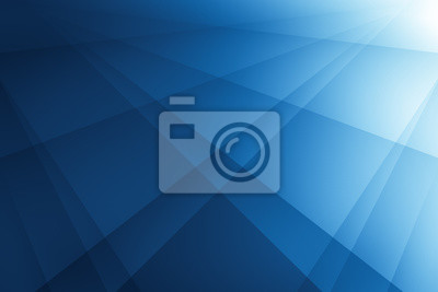 Fototapete abstract blue background with lines. illustration technology design