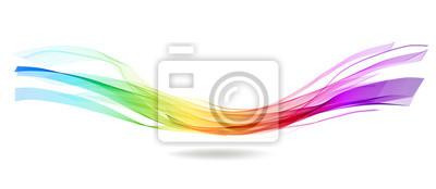 Fototapete Abstract bunten Hintergrund mit Welle