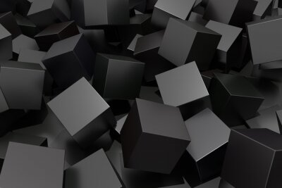Fototapete Abstract cube