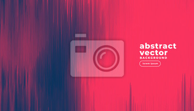 Fototapete abstract duotone lines background design