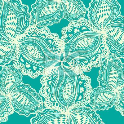 Abstract floral Element für dekorative Gestaltung