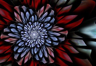 Fototapete Abstract fraktalen Blume