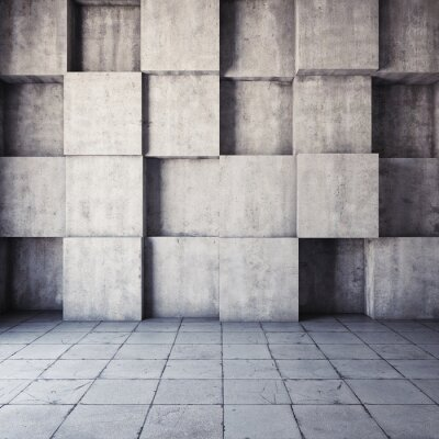 Fototapete Abstract geometric background