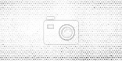 Fototapete Abstract halftone dotted background. Grunge effect vector texture