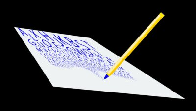 Abstract Letter Writing