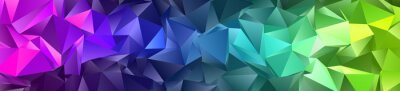 Fototapete Abstract Low-Poly background. triangulated texture. Design 3d. Polygonal geometrical pattern. Triangular modern style