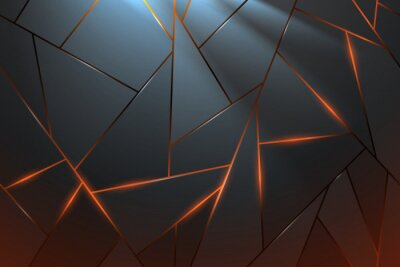 Fototapete Abstract metal background with light effect