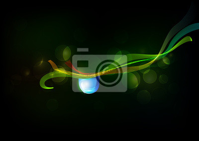 Fototapete Abstract Nature Vector Background
