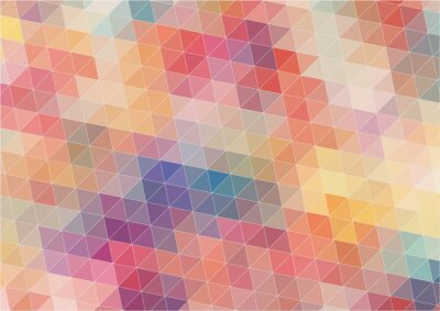 Fototapete Abstract Two-dimensional  colorful background