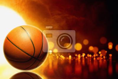 Abstrakt Basketball
