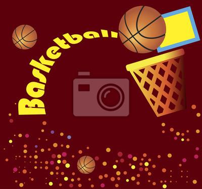 Abstrakt Basketball banner
