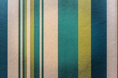 Fototapete Abstrakt colorful Vintage Hintergrund mit Streifenmuster an der Wand