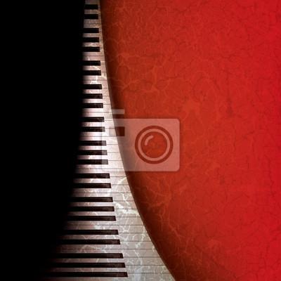 abstrakt Grunge-Musik-Hintergrund