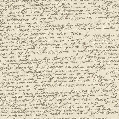 Abstrakt Handschrift auf alten Vintage-Papier. Nahtlose Muster, vec