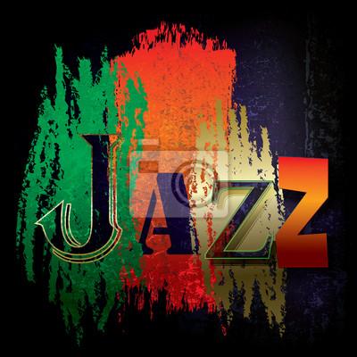 Abstrakt Jazz-Musik-Hintergrund