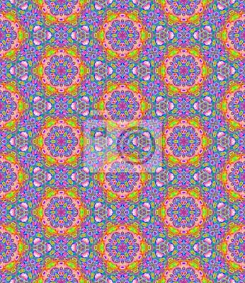 Abstrakt Multicolor Fliesen Mosaik Muster Bunte Gefliesten Textur