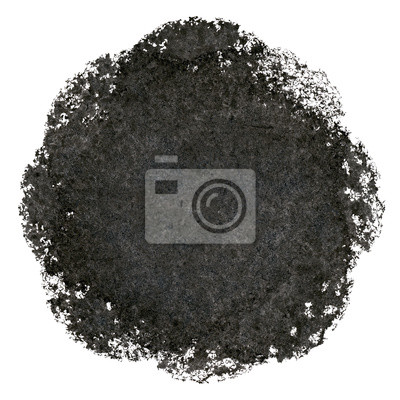 Abstrakt schwarzen Kreis
