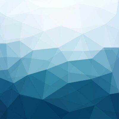 Fototapete abstrakte blauen Hintergrund