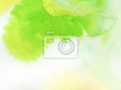 Abstrakte bunte Aquarell von Hand bemalt Hintergrund