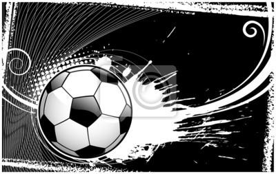 abstrakte Fußball backround