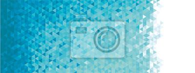 Fototapete Abstrakte geometrische banner
