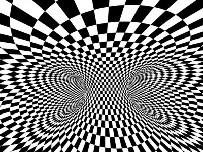 Fototapete Abstrakte Illusion
