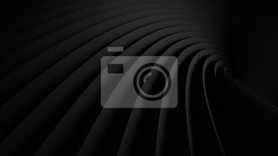 Fototapete abstrakte Illustration. luxuriöse schwarze Linie Hintergrund