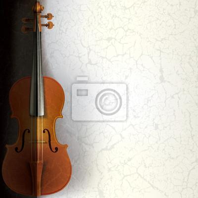 abstrakte Musik Hintergrund mit Violine