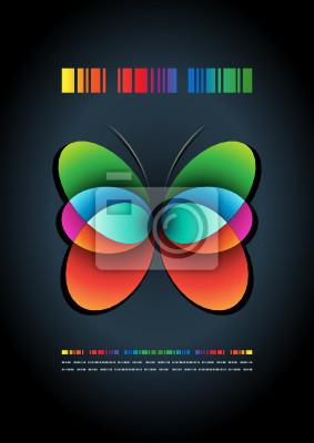 abstrakte Plakatgestaltung