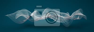 Fototapete Abstrakte Wellenformen