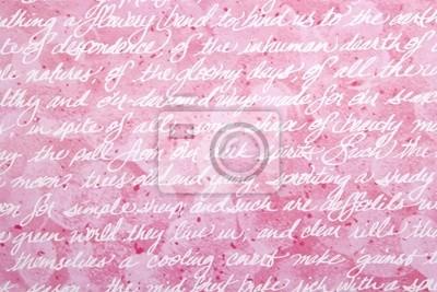 abstrakten roten Hintergrund mit Handschrift
